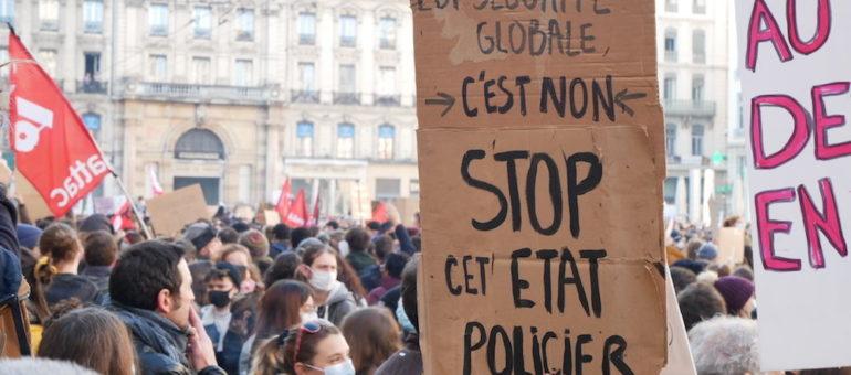 Ce samedi, 2ème manifestation contre la loi «sécurité globale» à Lyon