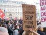 """Manifestation contre la loi """"sécurité globale"""" du 28 novembre 2020 à Lyon. ©DD/Rue89Lyon"""
