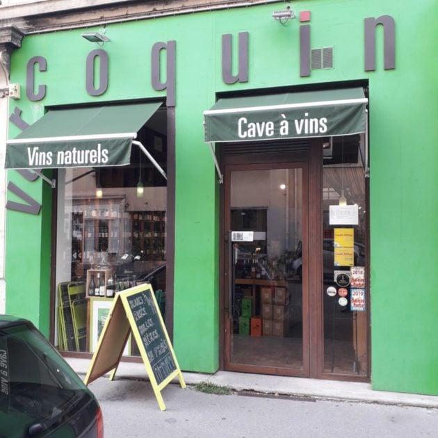 Un magasin spécialisé dans le vin naturel, à Vercoquin