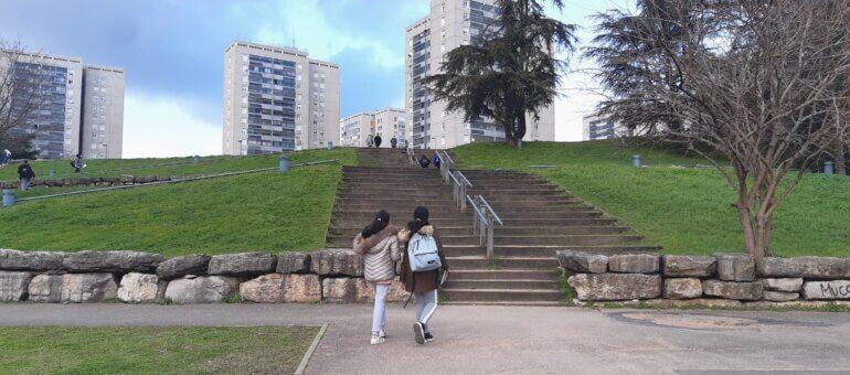 La politique de la ville joue un «rôle d'amortisseur» aux Minguettes
