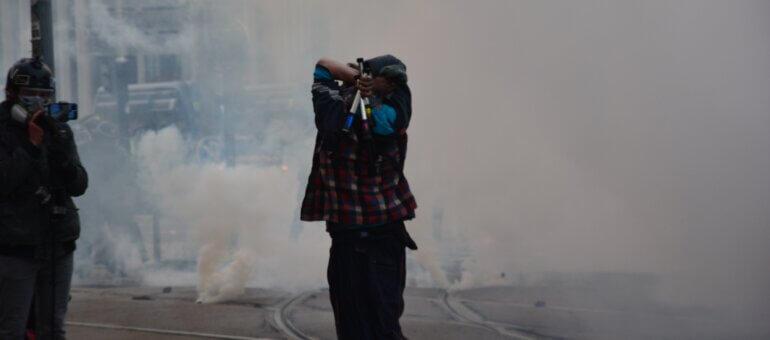A Lyon, la Marche des libertés stoppée par la police