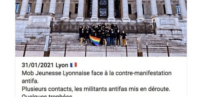 La «Manif pour tous» dépassée par ses militants d'extrême droite à Lyon