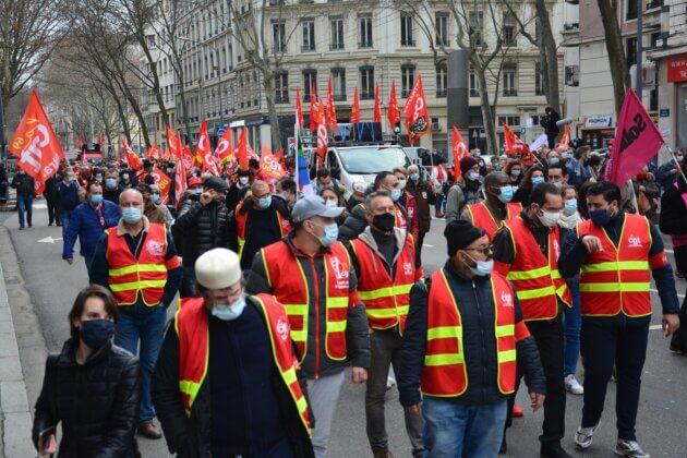 Entre 1600 et 3000 personnes ont manifesté jeudi - Crédit Pierre LEMERLE