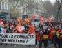 Les militants CGT ont représenté le groupe des maigres troupes ce 4 février 2021. Crédit : Pierre LEMERLE/Rue89Lyon.