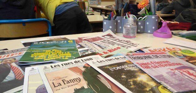 Maradona et les pharaons : ma matinée en école élémentaire à Lyon