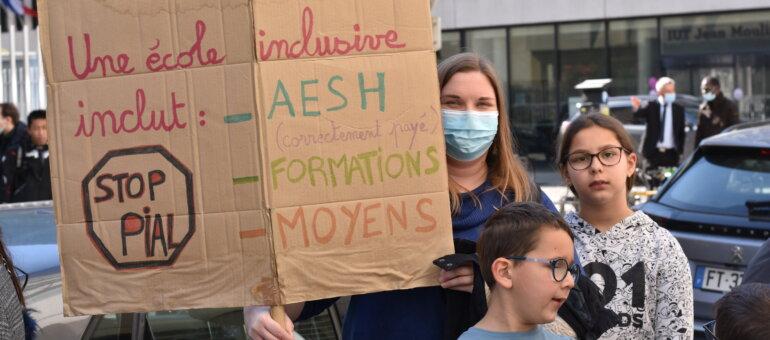 Les AESH de Lyon appelées à manifester ce mardi