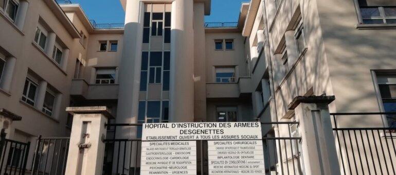 L'hôpital militaire Desgenettes de Lyon dit adieu à ses urgences