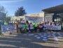 Enseignants du lycée Albert Camus de Rillieux-La-Pape en grève le 23 mars 2021 pour obtenir une meilleur dotation horaire globale. ©GB