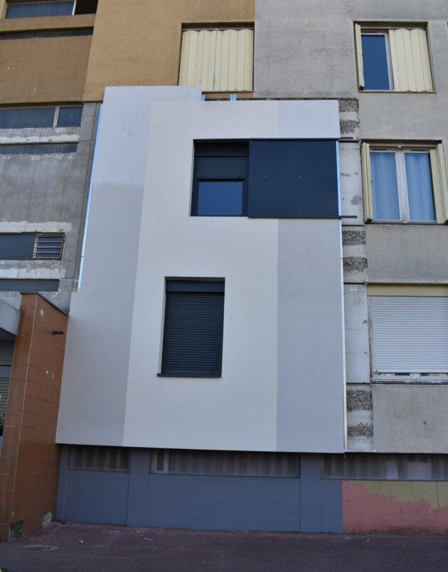 L'appartement témoin, rue Marius Donjon (bâtiment 440 au 460) ©LS/Rue89Lyon