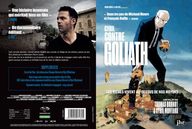 Jaquette Cyril contre Goliath