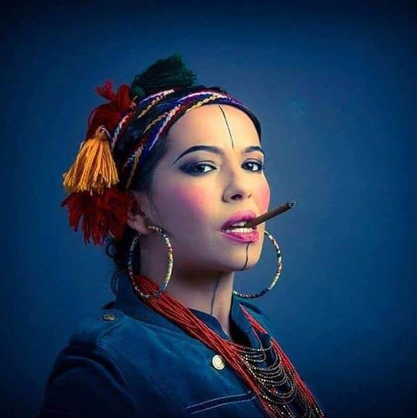 La chanteuse et comédienne Karimouche programmée au festival Les Chants de mars 2021. DR