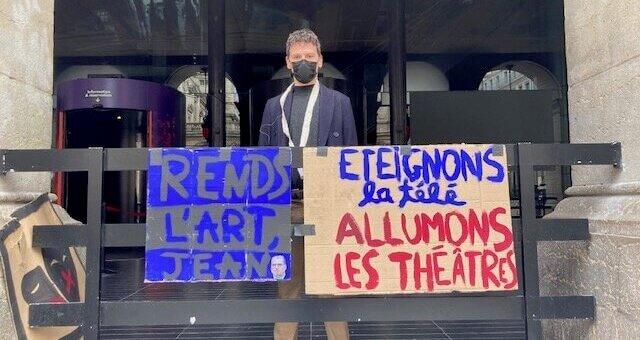 Occupation de l'Opéra de Lyon, «pour les précaires de la culture et les autres»