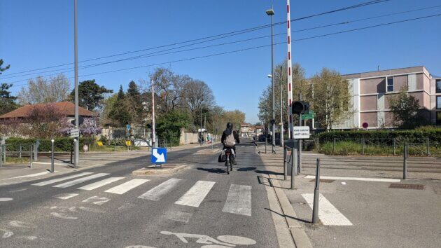 Un vélo à Meyzieu. ©LS/Rue89Lyon