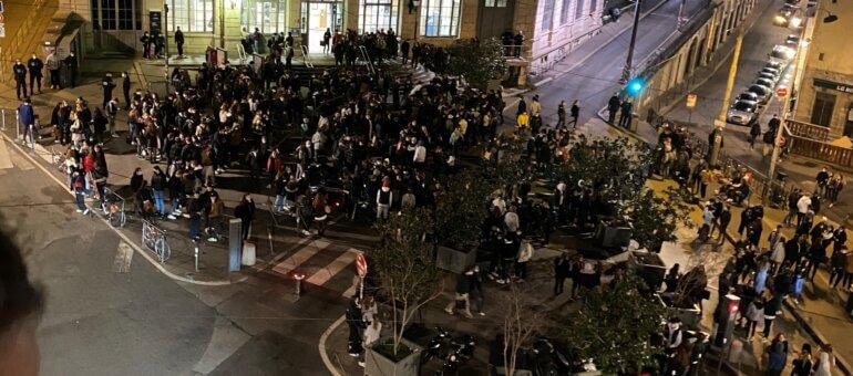 À Lyon, bagarres géantes de lycéens dans les beaux quartiers