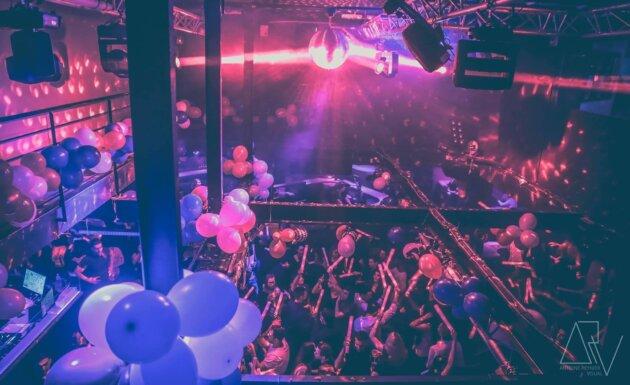 La piste du Loft Club, vue d'en haut ©LoftClub