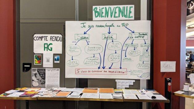 L'organigramme de lutte du TNP ©LS/Rue89Lyon