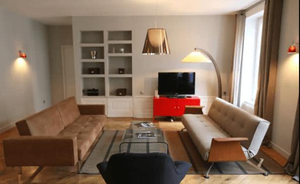 photos annonce postée La Carte des Colocs Lyon. logement Airbnb arnaque
