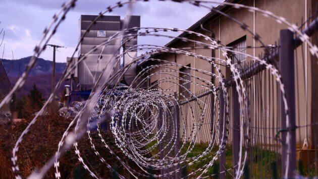 Prison région lyon Auvergne-Rhône-Alpes
