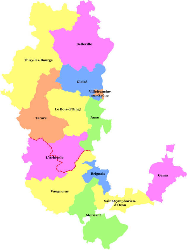 Cantons du Rhône élections départementales