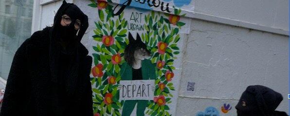 Le collectif Garoue Garou renouvelle le street art à Lyon