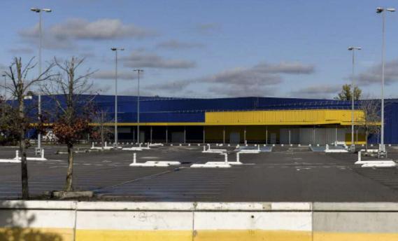Ikea Lyon Sofo urbanisme commercial