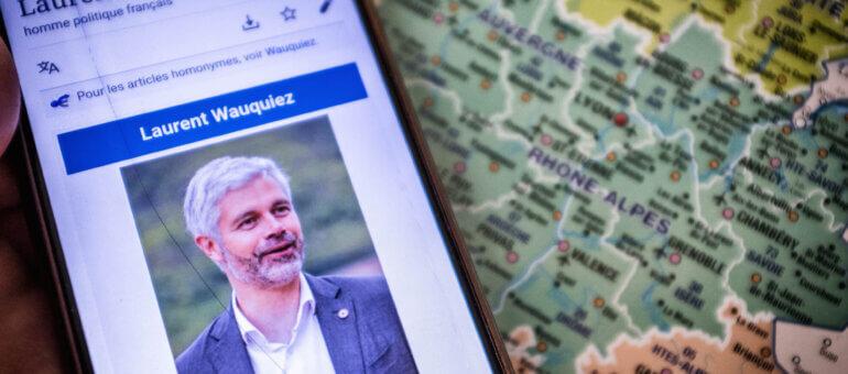 La biographie Wikipédia de Laurent Wauquiez caviardée à son profit