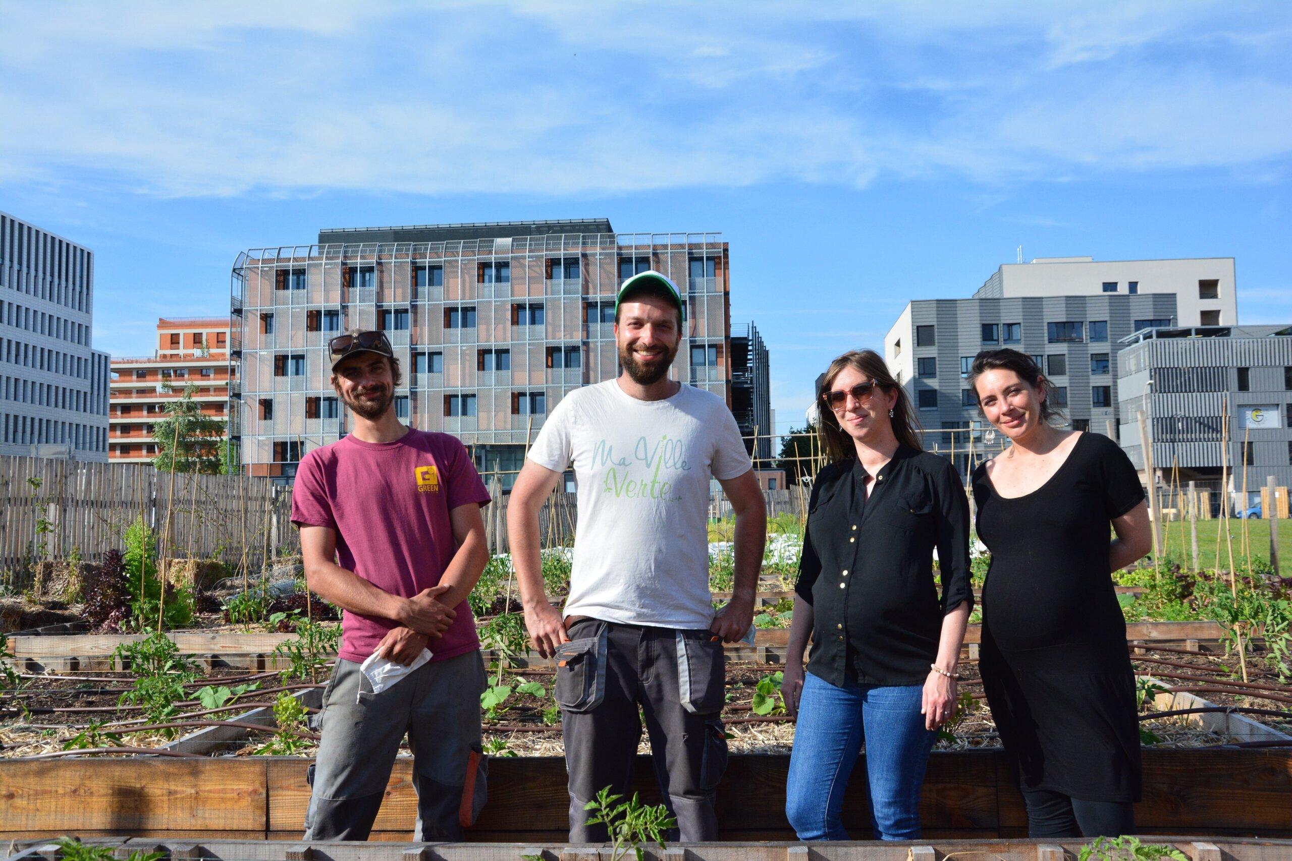 Ma ville verte compte quatre personnes