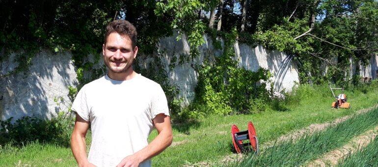 Antoine Moroni, un paysan sans terre de l'Ouest lyonnais