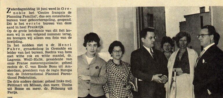 Il y a 60 ans, le premier planning familial de France ouvrait à Grenoble