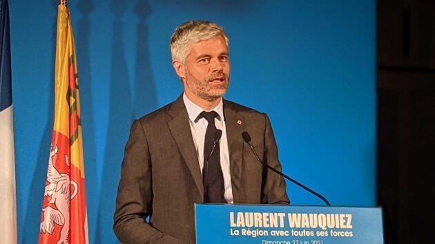 Laurent Wauquiez élections régionales 2021 victoire