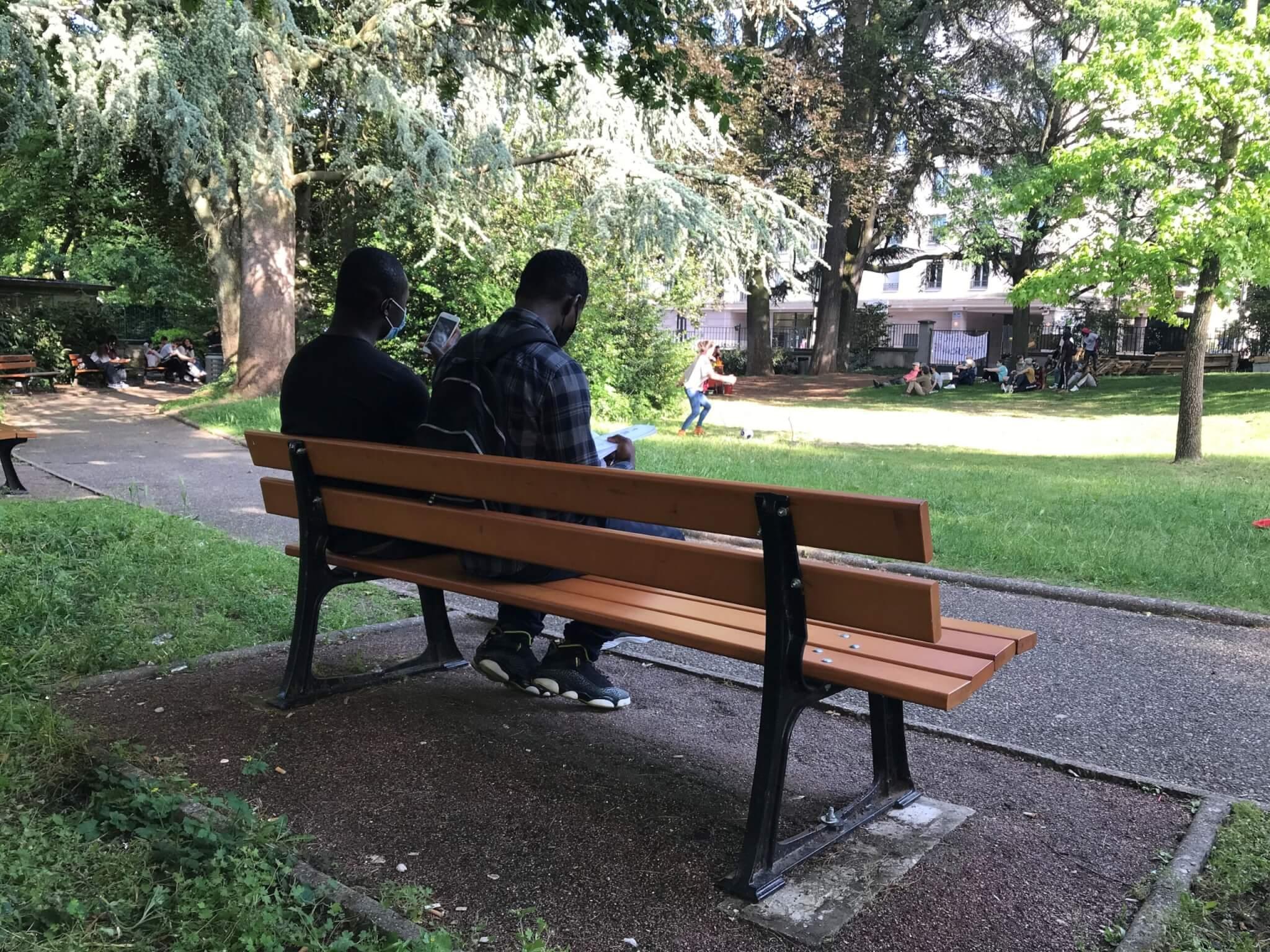 Lyon migrants