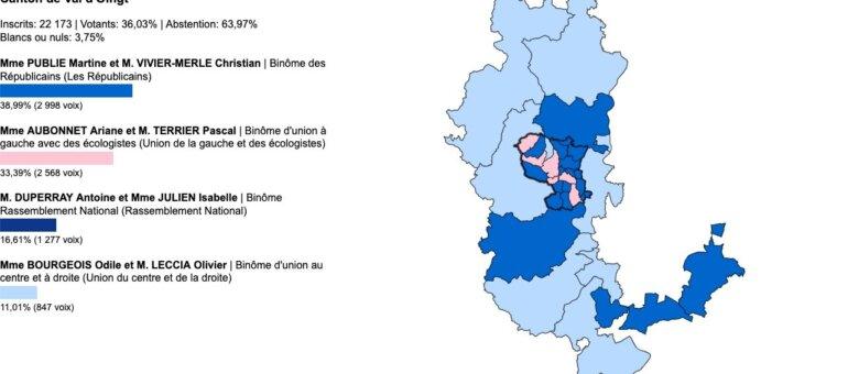 Départementales Rhône: vos élus du canton du Val-d'Oingt