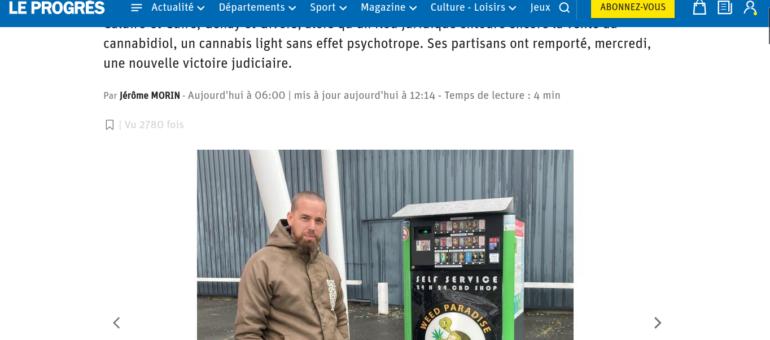 Des distributeurs automatiques de «cannabis légal» installés autour de Lyon