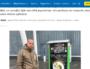 Capture d'écran du journal Le Progrès sur la vente de cannabis légal (ou CBD) par distributeurs automatiques