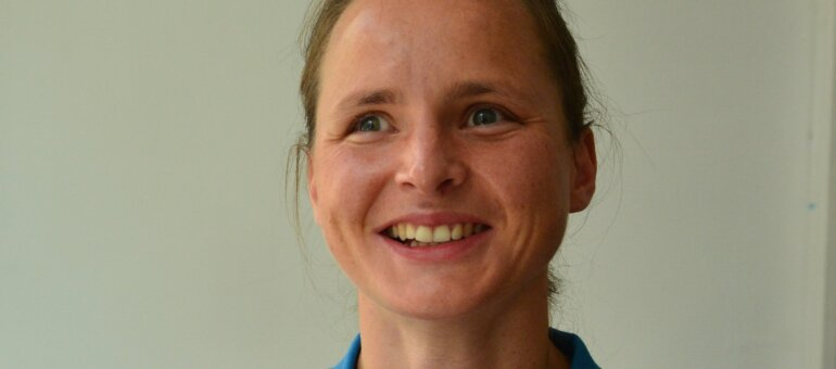 Annouck Curzillat, triathlète aux Jeux paralympiques grâce à un pompier de Lyon