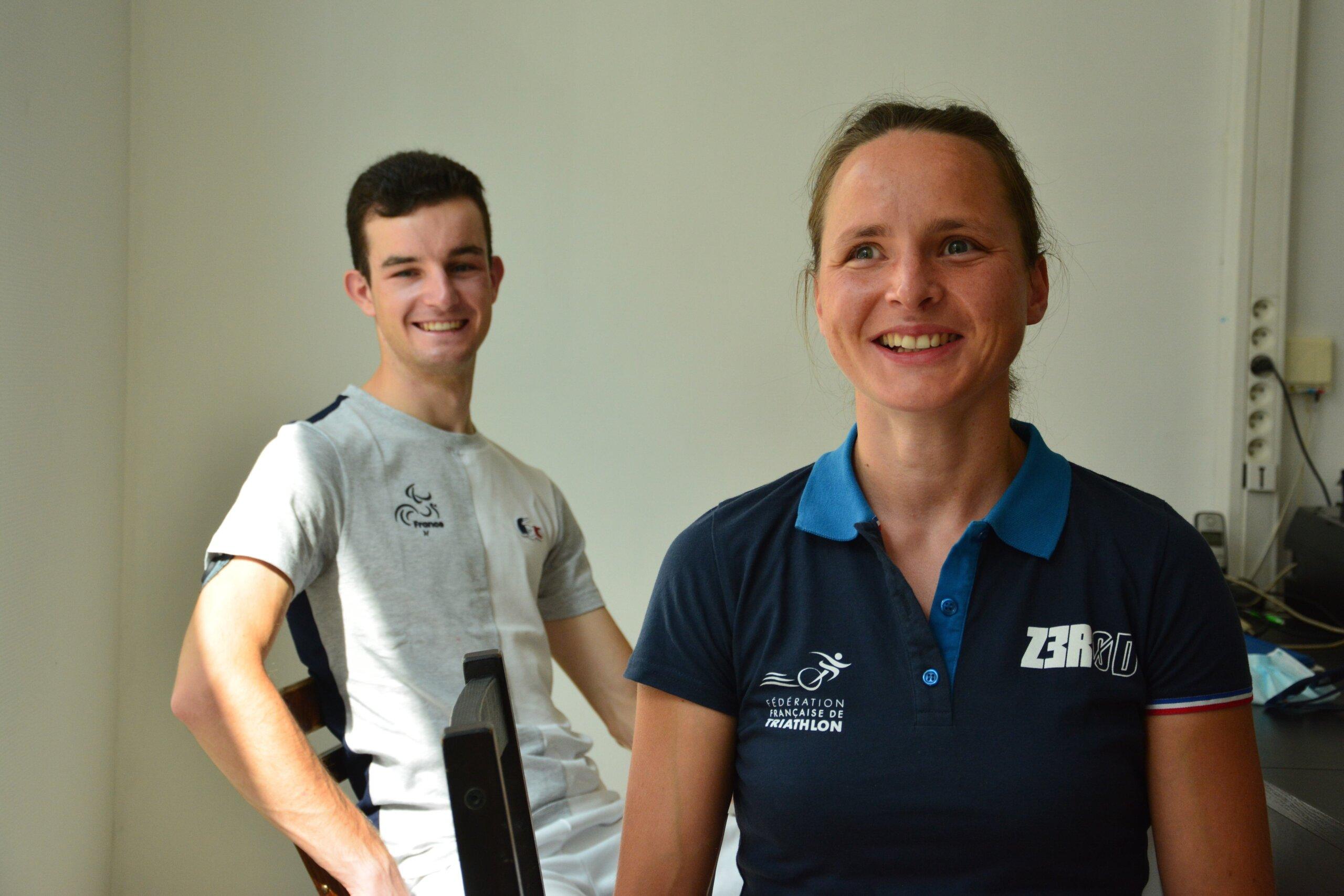 Annouck Curzillat de Lyon Jeux paralympiques