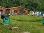 Le syndicat des apiculteurs du Rhône qui propose des formations à l'apiculture, à l'école de Marcy-l'Etoile, sur le campus de l'école vétérinaire VetAgroSup