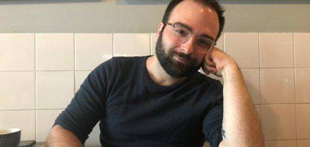 Julien Martinez, infirmier à Lyon à l'origine du hashtag #InfirmierVacciné