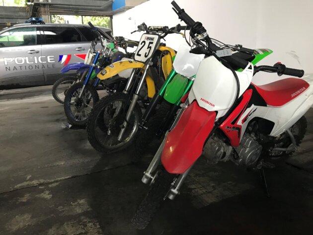 Rodéos Lyon moto-cross