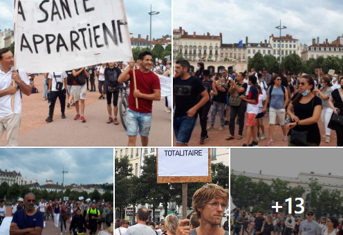 À Lyon, deux manifestations contre le pass sanitaire ce samedi