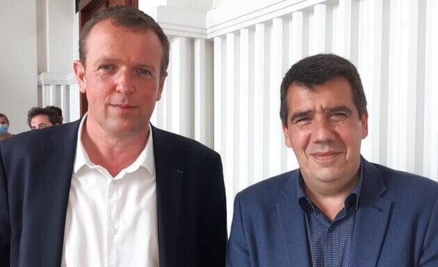 Cédric Van Styvendael Yann Crombecque