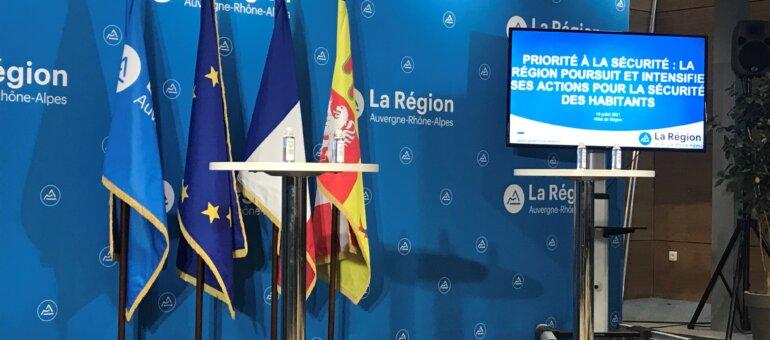 Laurent Wauquiez charge sa com' sur la sécurité en Auvergne-Rhône-Alpes