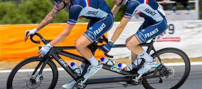 Alexandre Lloveras, paracycliste à Lyon, veut «fairerésonner La Marseillaise à Tokyo»
