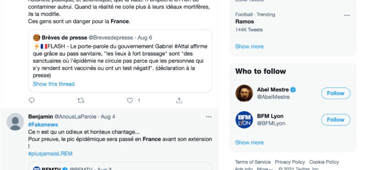 À Lyon : les victimes de fake news «fonctionnent comme tout le monde»