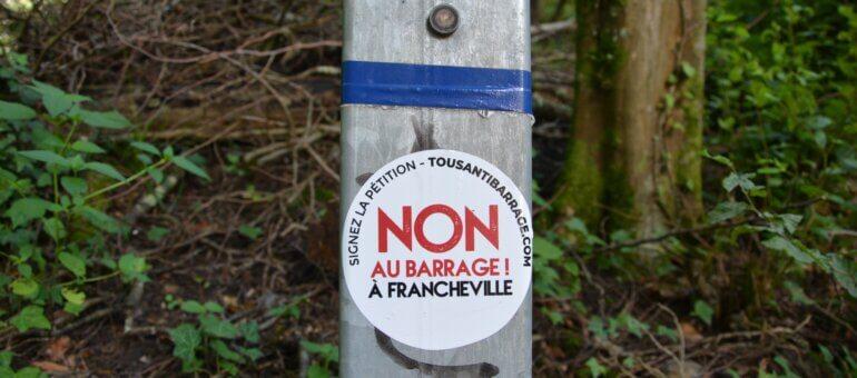 À Francheville, le projet de barrage pourrait tomber à l'eau