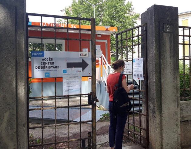 dépistage test Covid Lyon Rhône