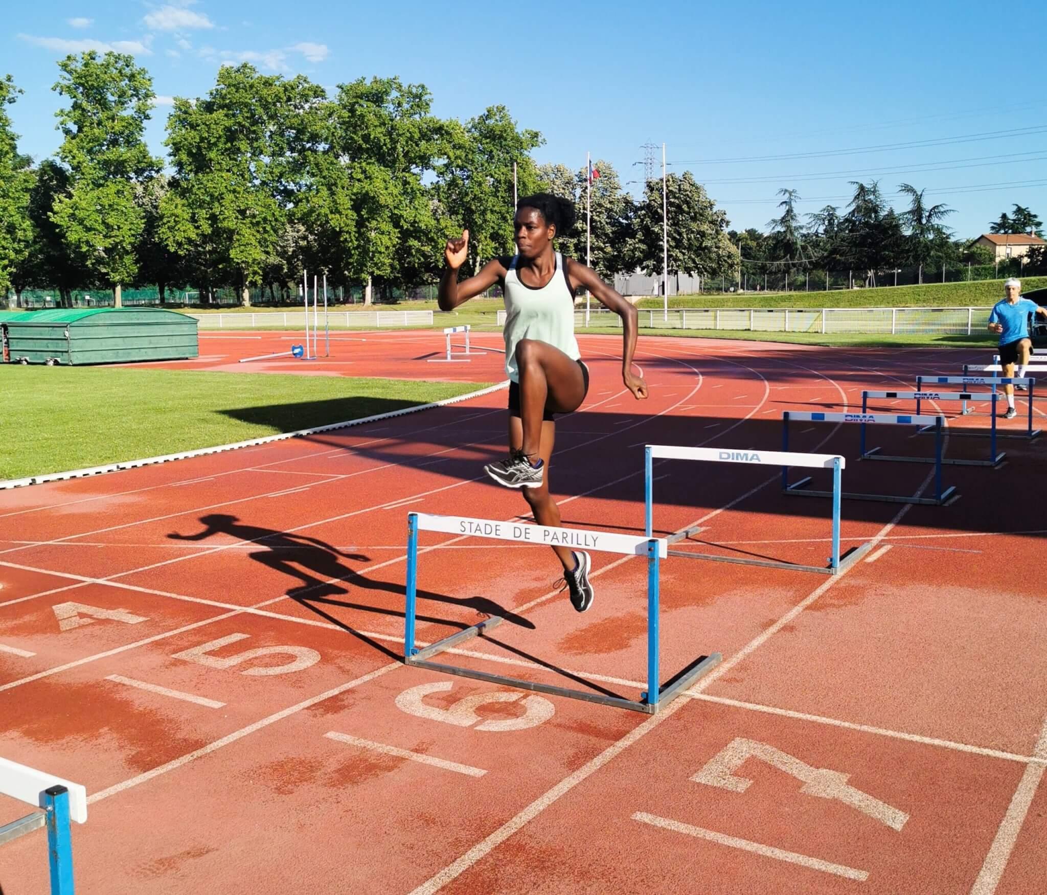Angélina Lanza athlétisme lyon