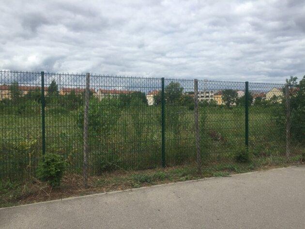 terrains friches ZAC quartier Saulaie Oullins