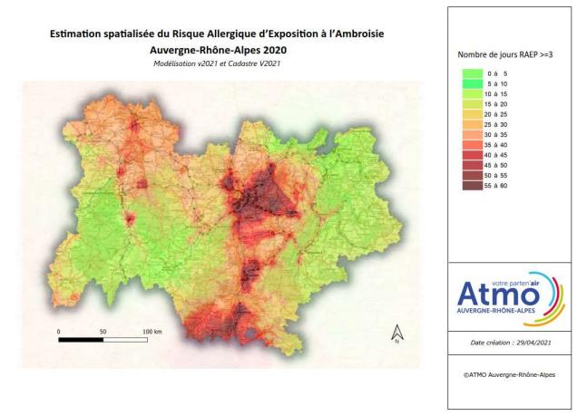 ambroisie Lyon Auvergne-Rhône-Alpes