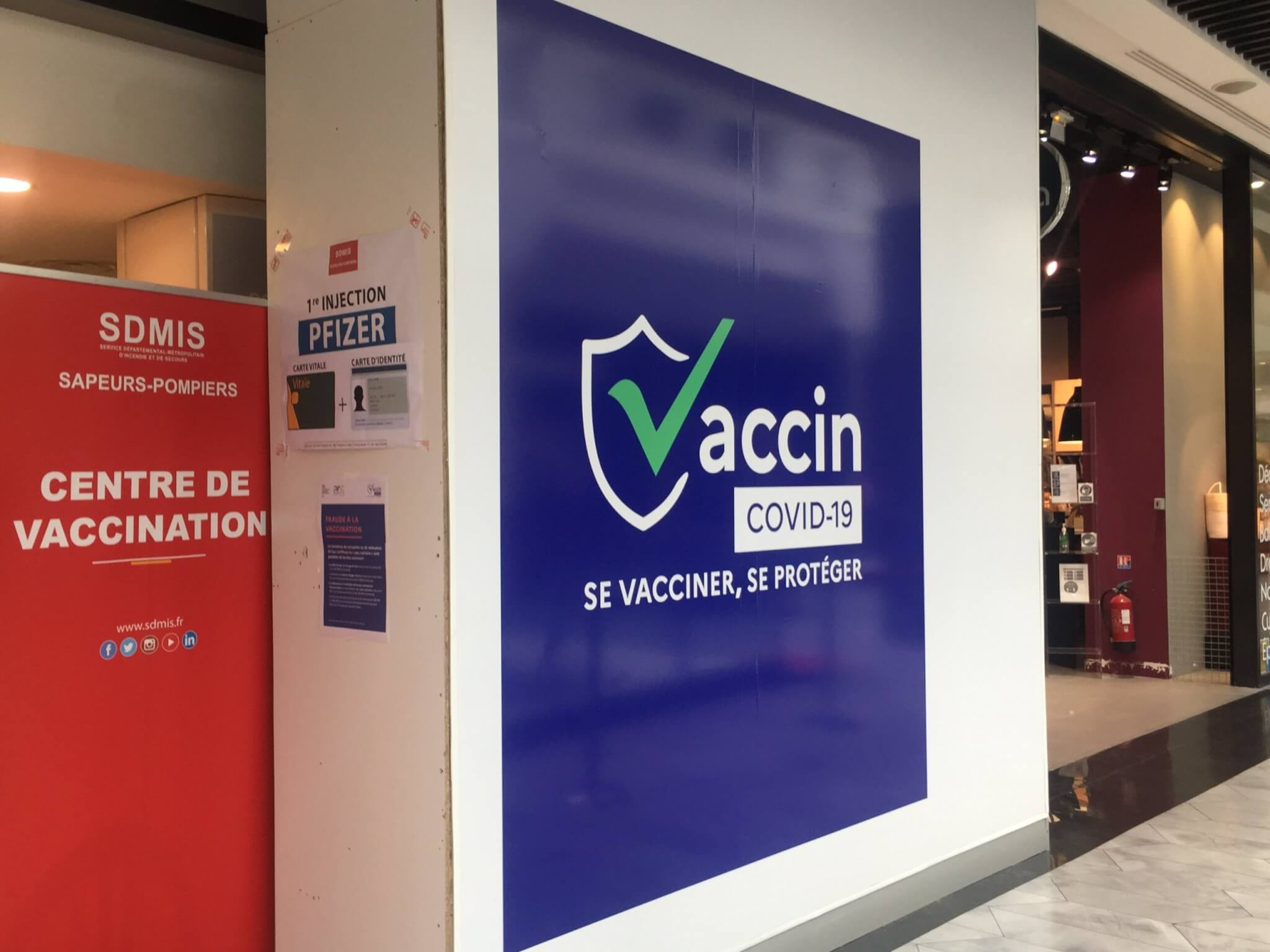 Vaccine against Covid-19 is running low at Lyon Part-Dieu  